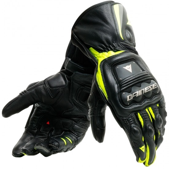 Guantes DAINESE Steel-Pro Black / Fluo-Yellow