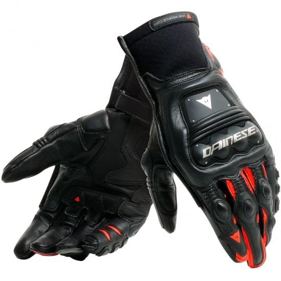 Handschuh DAINESE Steel-Pro In Black / Fluo-Red