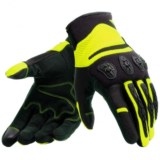 Guantes DAINESE Aerox Black / Fluo-Yellow