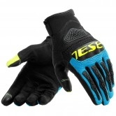 DAINESE Bora Black / Fire-Blue / Yellow-Fluo