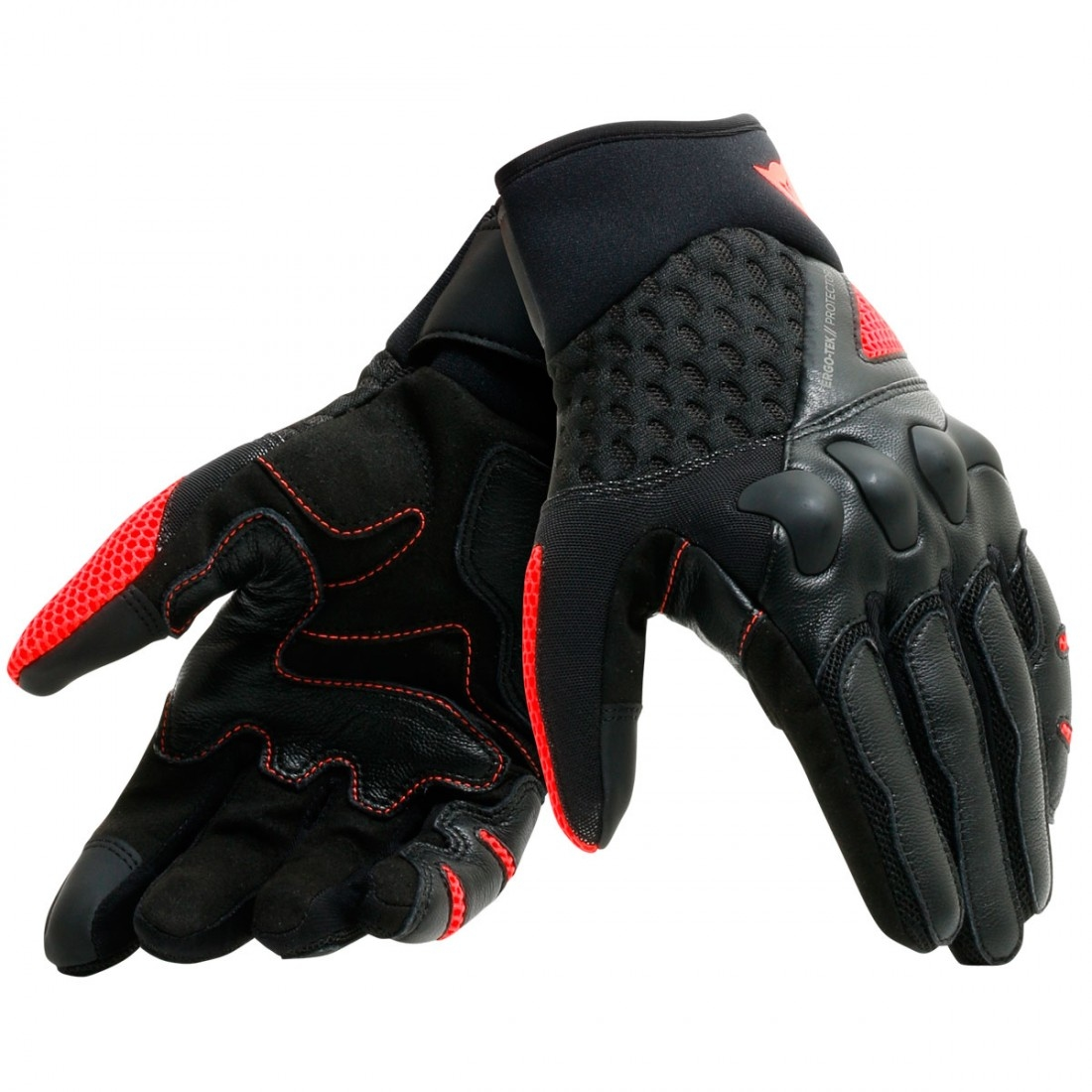 96f265b6f6f Guantes DAINESE X-Moto Black / Fluo-Red · Motocard