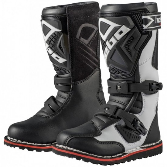 HEBO Technical 2.0 Micro Junior White / Black Boots