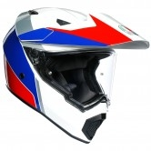 AGV AX9 Atlante White / Blue / Red