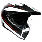 AGV AX9 Pacific Road Matt Black / White / Red
