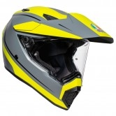 AGV AX9 Pacific Road Matt Grey / Yellow Fluo / Black