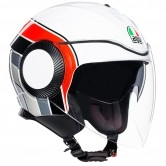 AGV Orbyt Brera White / Red / Grey