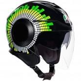 AGV Orbyt Ginza Black / Yellow / Green