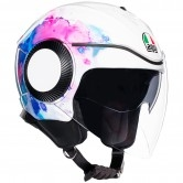 AGV Orbyt Mayfair White / Purple