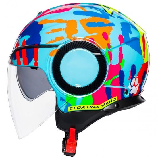 Helm AGV Orbyt Rossi Misano 2014