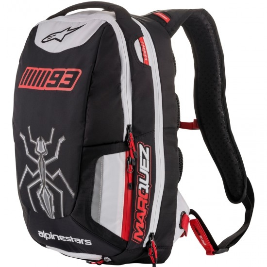 Borsa ALPINESTARS Jerez Black / White / Red