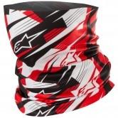 Blurred Black / White / Red
