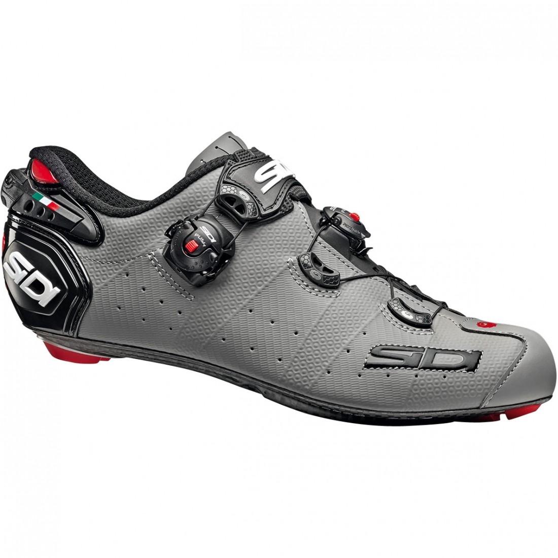 ffa2009cc SIDI Wire 2 Carbon Matt Grey   Black Shoe · Motocard