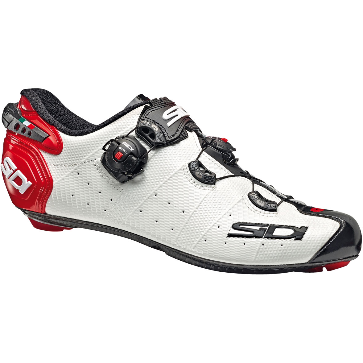 null SIDI Wire 2 Carbon White / Black / Red