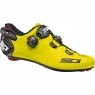 SIDI Wire 2 Carbon Yellow Fluo / Black Shoe