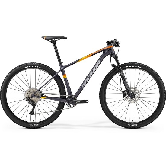 "Vélo Tout-Terrain MERIDA Big Nine 3000 29"" 2019 Silver / Orange"