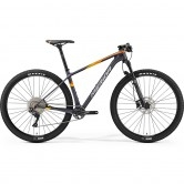 "MERIDA Big Nine 3000 29"" 2019 Silver / Orange"