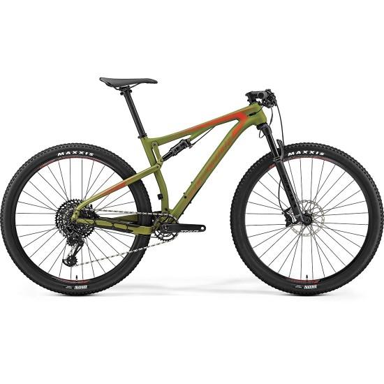 "Bici da montagna MERIDA Ninety Six 6000 29"" 2019 Green / Red"