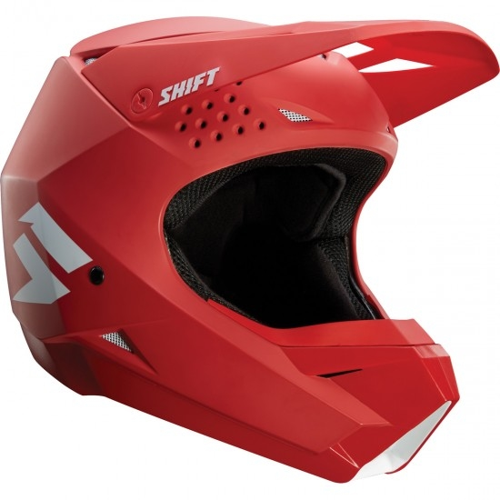 Helm SHIFT White Label Junior Red