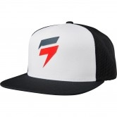 SHIFT Corp Snapback White