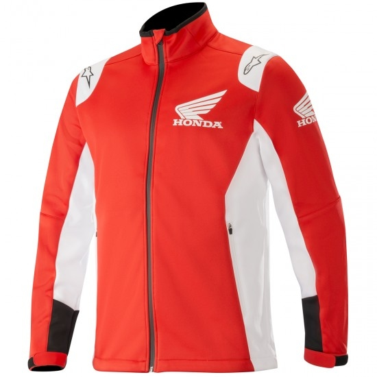 Blouson ALPINESTARS Honda Softshell Red