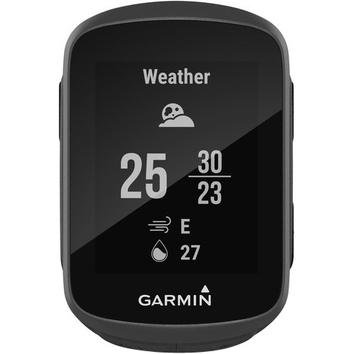 GARMIN Edge 130 Pack HRM Black Odometer