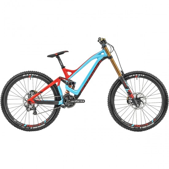 "Bicicleta de montaña MONDRAKER Summum Carbon Pro Team 27,5"" 2019 Blue Sky / Flame Red / Carbon"