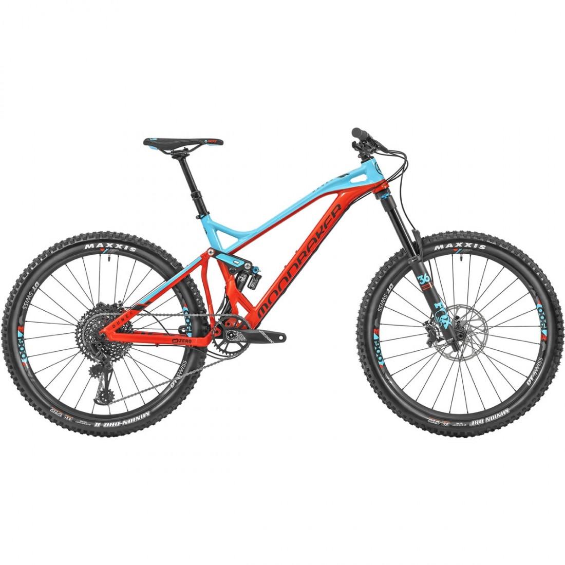 "4c9bd9f8a Bicicleta de montaña MONDRAKER Dune R 27.5"" 2019 Flame Red / Blue Sky"