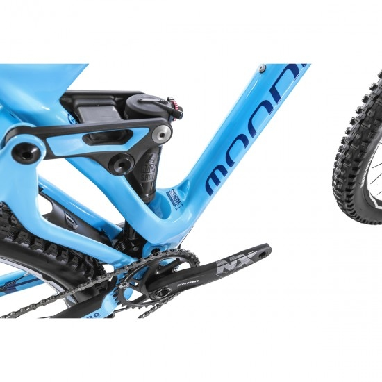 "MONDRAKER Foxy Carbon R 27,5"" 2019 Blue Sky / Dark Blue / Orange Mountainbike"