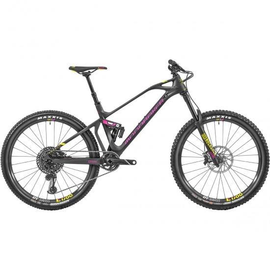 """Bicicleta de montaña MONDRAKER Foxy Carbon XR 27,5"""" 2019 Carbon / Pink / Yellow"""