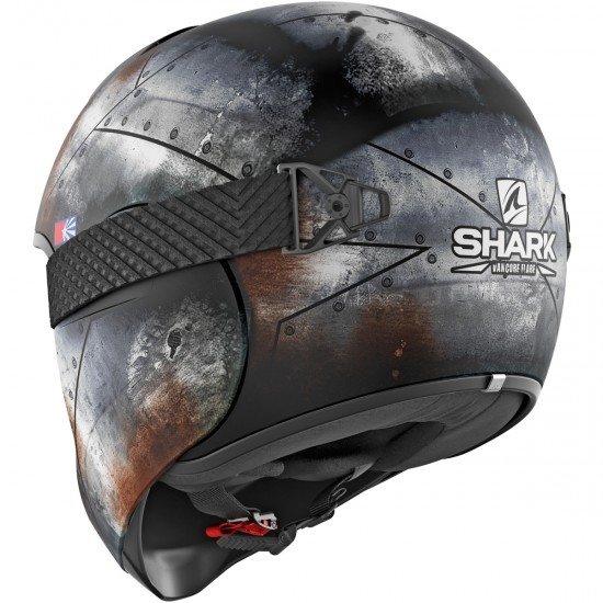 Casco SHARK Vancore 2 Flare Mat Black / Anthracite / Orange