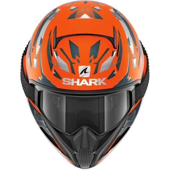 Casco SHARK Vancore 2 Kanjhi Mat Orange / Anthracite / Anthracite