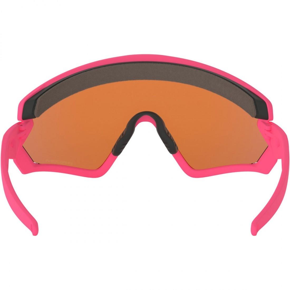 af0614926f74d OAKLEY Wind Jacket 2.0 Matte Neon Pink   Prizm Trail Mask   Goggle ...