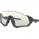 Flight Jacket Gray Ink / Clear Black Iridium Photochromic Activated