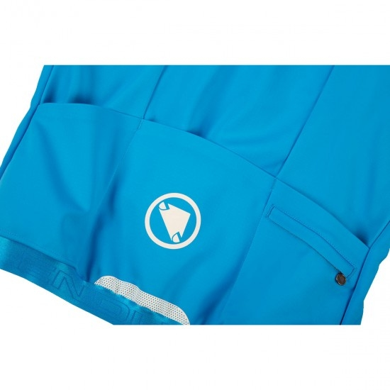 Casaco ENDURA Pro SL Thermal Windproof Hi-Viz Blue