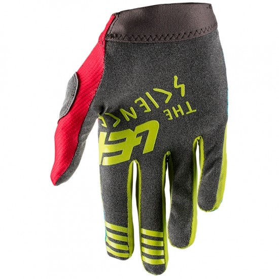 Guantes LEATT GPX 1.5 GripR Red / Lime