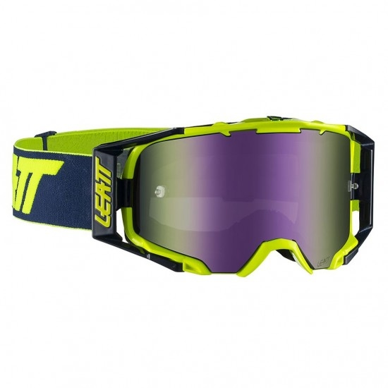 Gafas LEATT Velocity 6.5 Iriz Ink / Lime Purple 30%