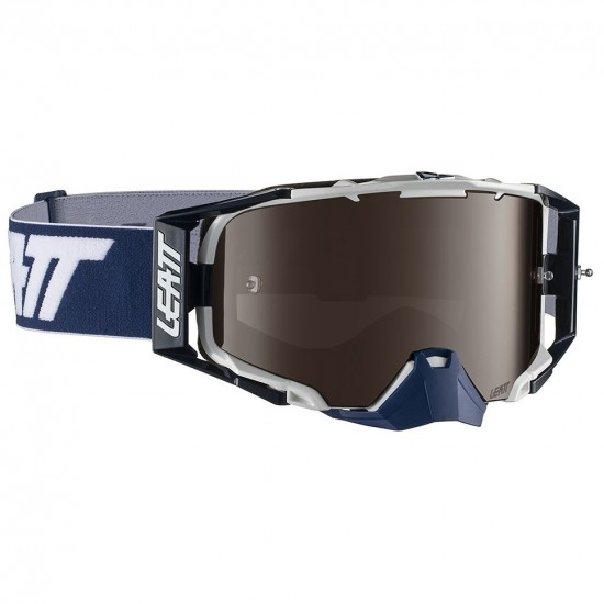 Gafas LEATT Velocity 6.5 Iriz Ink / White Platinium UC 30%
