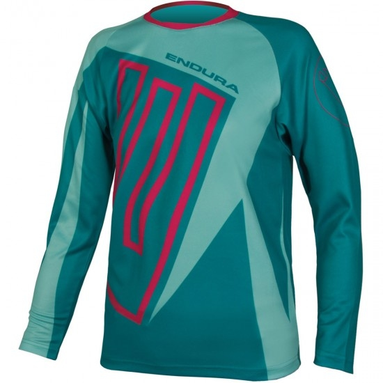Maillot ENDURA MT500JR L/S Junior Teal