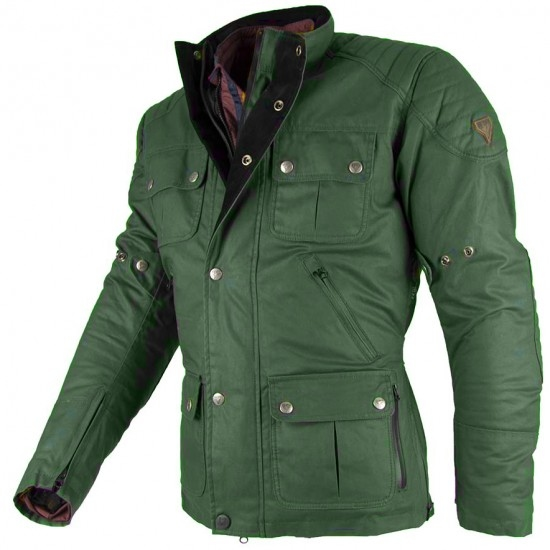 BY CITY London Green Jacket
