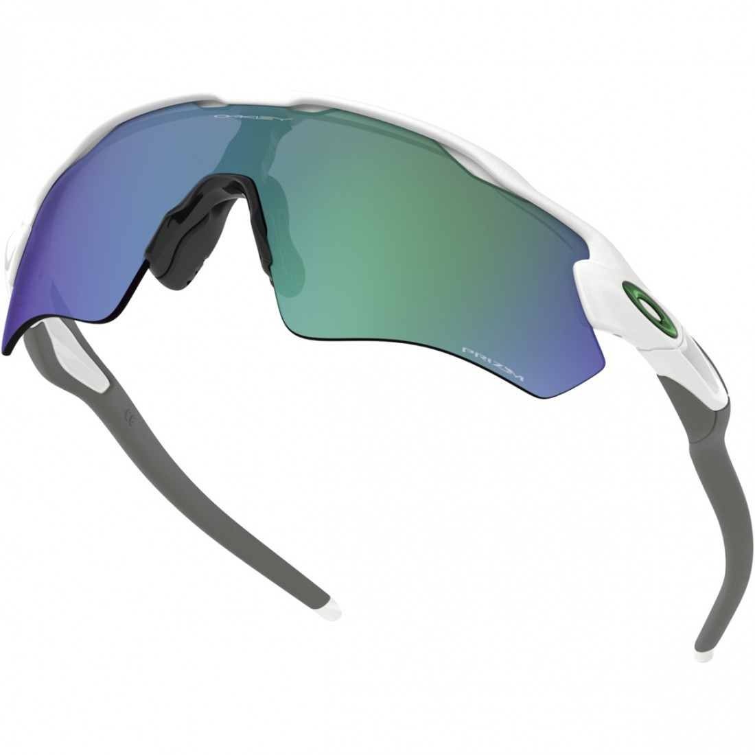 6c4bcf847e OAKLEY Radar EV Path Team Colors Polished White   Prizm Jade Mask   Goggle
