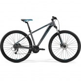 "MERIDA Big Nine 40-D 29"" 2019 Black / Grey / Blue"