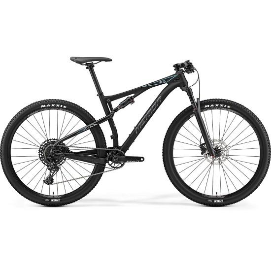 "MERIDA Ninety Six 9 4000 29"" 2019 Black / Blue Mountainbike"