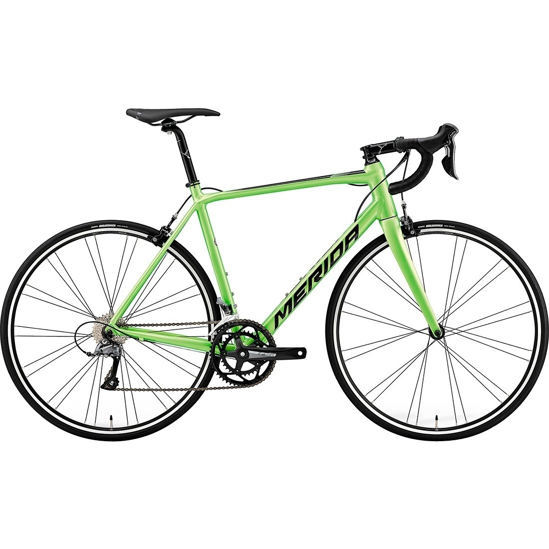 MERIDA Scultura 100 2019 Green / Black Road bike