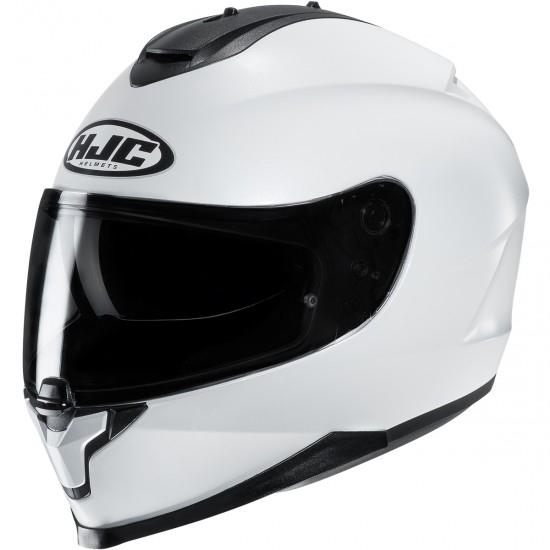 Helm HJC C 70 Pearl White