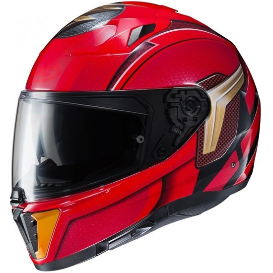 Casque HJC I 70 The Flash DC Comics MC-1