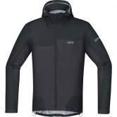 GORE C5 Gore-Tex Active Trail Hooded Black / Terra Grey