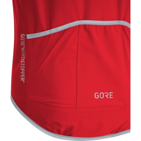 C5 Gore Winstopper Zipp Off Red / Black
