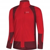 GORE C5 Partial Gore Windstopper Insulated Red / Chesnut Red