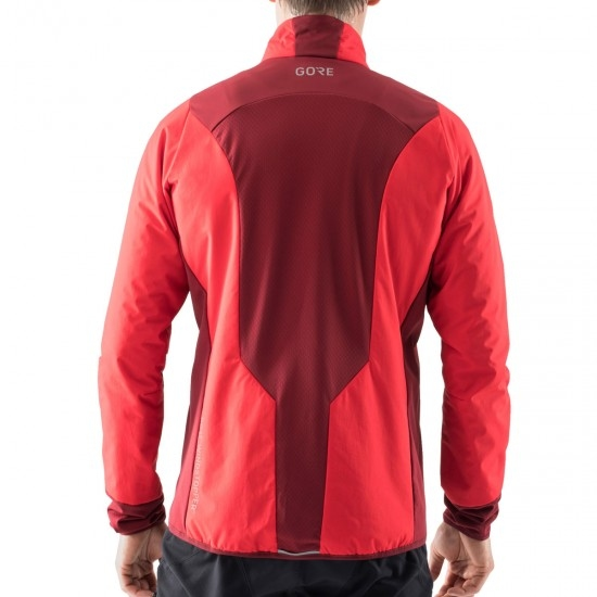 Veste GORE C5 Partial Gore Windstopper Insulated Red / Chesnut Red