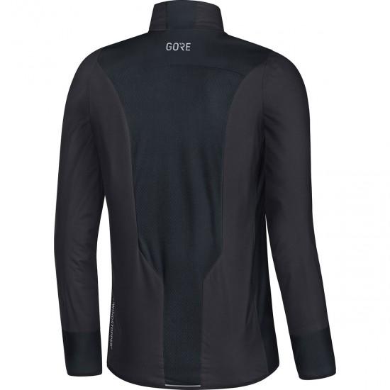 GORE C5 Partial Gore Windstopper Insulated Terra Grey / Black Jacket